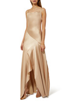 Kendall Satin Asymmetric Gown
